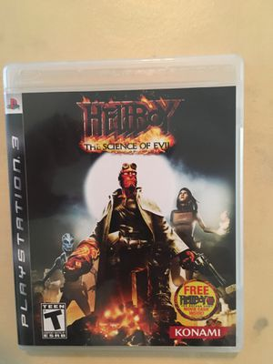 Sony PlayStation ps3 hellboy for Sale in Visalia, CA