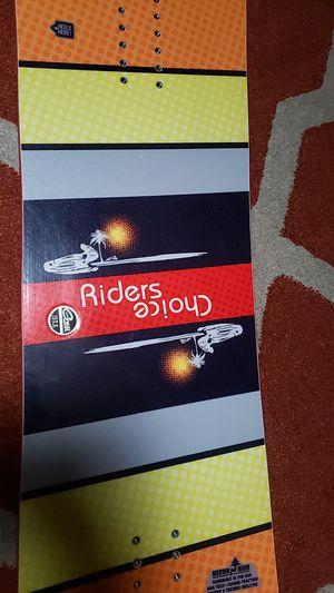 Gnu riders choice snowboard for Sale in Seattle, WA