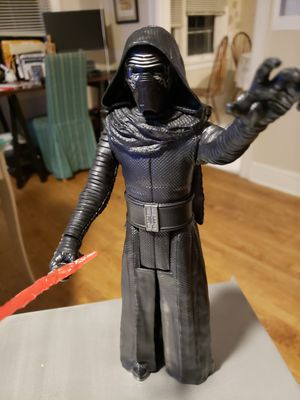 Kylo Ren Action Figurine near mint condition out of box for Sale in Portland, OR