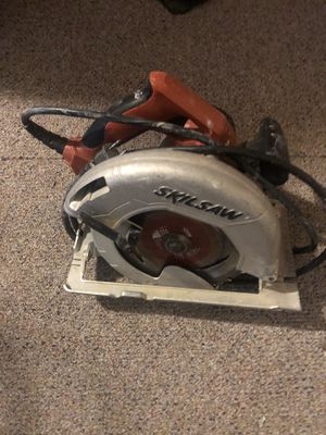Saw, in good condition skilsaw blade is fine and sharp for Sale in Kennewick, WA