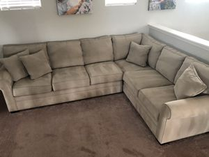 Tan Sectional for Sale in MAGNOLIA SQUARE, FL
