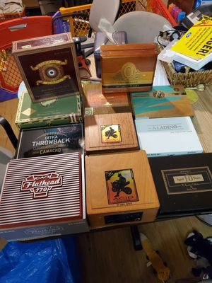Cizzgar box humidors for Sale in Hudson, OH