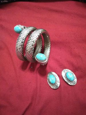 1950s najavo turquoise stones and silver from Hamilton Co for Sale in Port Neches, TX