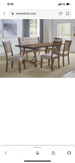 Steve Silver dining table for Sale in Irvine, CA