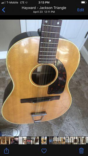 1964 Epiphone Serenader 12 string Acoustic Guitar. for Sale in Hayward, CA