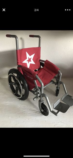 American girl doll wheelchair for Sale in Largo, FL