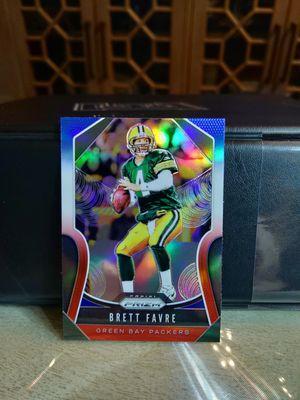 Brett Favre 2019 Panini Prizm 2 color variations (2) Cards! for Sale in Monroe, LA