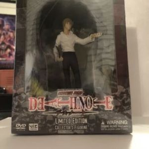 DeathNote Limited Edition Light Collectors Figurine and DvD for Sale in Fresno, CA