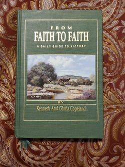 Faith To Faith Hard Cover Book. for Sale in Leander,  TX