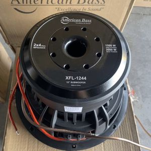 American Bass Car Audio . 12 Inch Car Stereo Subwoofer . XFL Series . 3000 watts . New Years Super Sale . $189 While They Last New for Sale in Mesa, AZ