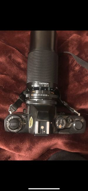 Tamron 70-210mm Camera Lens with Mamiya ZE Camera for Sale in Lakewood, OH