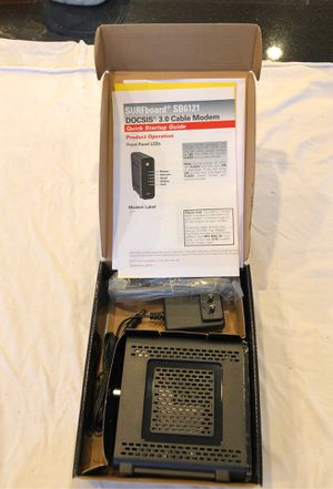 Motorola Surfboard SB6121 Cable Modem with DOCIS 3.0 for Sale in Gardena, CA