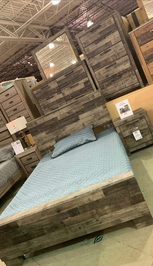 🍾🍾 Best Offer ‼ Derekson Gray Storage Platform Bedroom Set | B200 107 for Sale in Jessup, MD
