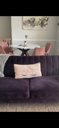 Purple Sofa for Sale in Reston,  VA