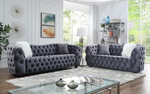 Grey Sofa and Loveseat On Sale for Sale in Garland, TX