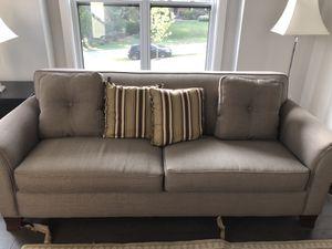 Linen green sofa for Sale in Rockville, MD