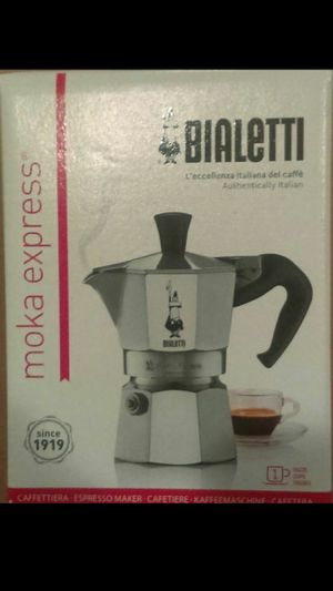 Bialetti 1- Cup Stove Top Espresso Maker for Sale in OH, US