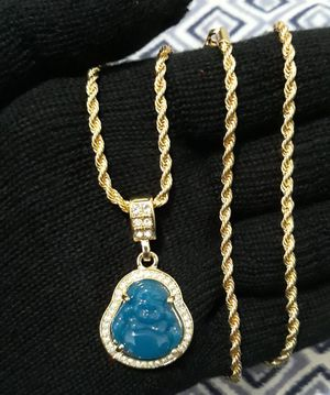 Buddha pendant with Rope chain for Sale in East Los Angeles, CA