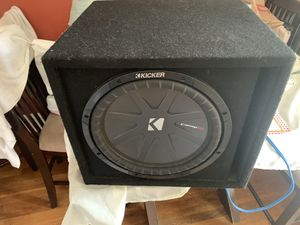 Subwoofer 12' inch + amplifier pionner 1.600W mono for Sale in Milford, MA