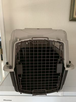 Airline approved medium size dog crate for Sale in Covington, WA