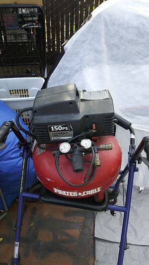 Porter cable. 150PSI air compressor for Sale in Portland, OR