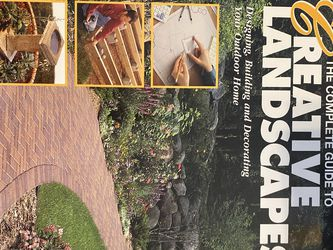 Creative Landscapes Book for Sale in Murfreesboro,  TN
