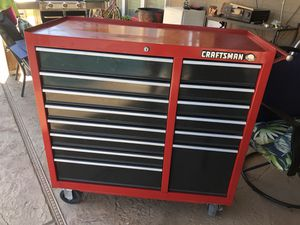 Craftsman 14 drawer tool chest for Sale in Tempe, AZ