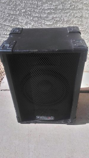 """AUDIOCHOICE by SoundTech Pro Audio/DJ/Band stage monitor passive 10"""" 2 way speaker ¼"""" jack - excellent sound - for Sale in Peoria, AZ"""