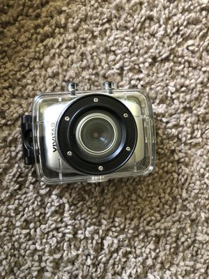 Vivitar DVR 781HD waterproof video recorder/camera for Sale in Rockville, MD