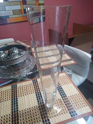 Glass vase for Sale in Herndon, VA