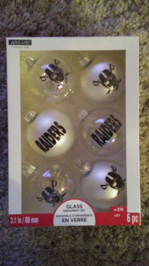 Raiders Ornaments for Sale in Henderson, NV