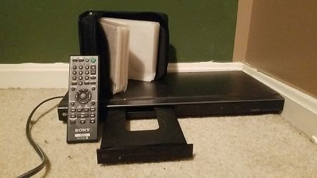 DVD Player + DVD Holder + Movies for Sale in Lake Shore,  MD