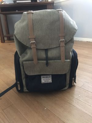 Eddie Bauer diaper bag backpack for Sale in Beaumont, CA