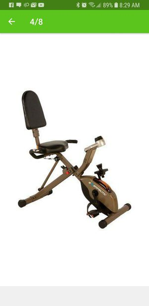 Folding Exercise Bike for Sale in Riverview, FL