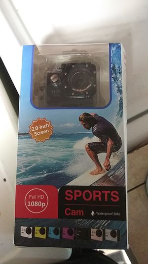 Brand new waterproof sports cam for Sale in Portland, OR