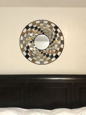 Metal mirror wall decor for Sale in Lacey, WA