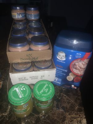 Free bby food come pick up for Sale in Winter Haven, FL