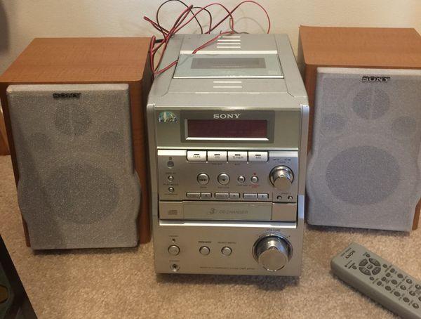 Stereo Sony CD, Cassette, Radio