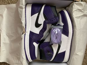 "Jordan 1 ""court purple"" for Sale in Pflugerville, TX"