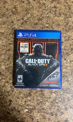 Call Of Duty Black Opps    (PS4 for Sale in Lake Elsinore, CA