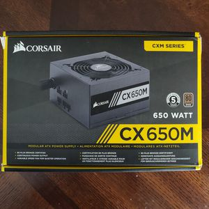 Corsair CX650M Semi-Modular 650W Bronze PSU for Sale in Gentry, AR