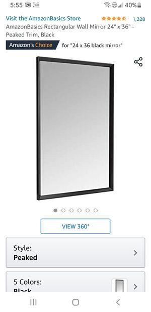 NEW LARGE MIRROR 24X36 for Sale in Woodland, CA