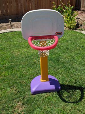 Basketball hoop. Little tikes for Sale in Turlock, CA