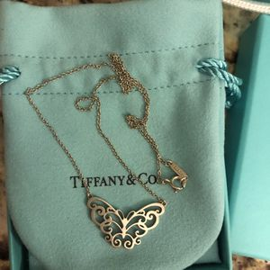 Tiffany Enchant Butterfly Necklace for Sale in Half Moon Bay, CA