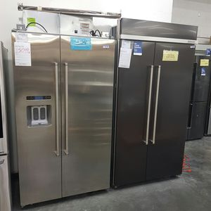 """New KitchenAid 42"""""""" Built in Refrigerator Stainless Steel Water Ice for Sale in Chino Hills, CA"""