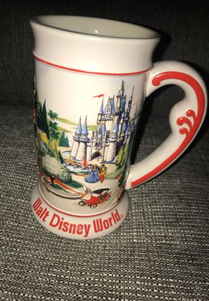 Disney tall coffee mug vintage for Sale in Johnston, RI