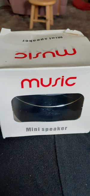Mini speaker bluetooth for Sale in Greeneville, TN
