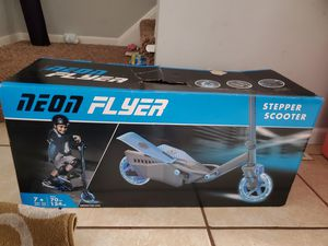 Neon Flyer-Stepper-Scooter for Sale in Columbus, OH