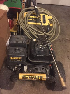 DEWALT 3400 PSI PRESSURE WASHER for Sale in Federal Way, WA