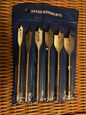 """New SPADE BORING BITS 6 bits 3/{contact info removed}"""" (2 available, priced separately) for Sale in Poway, CA"""